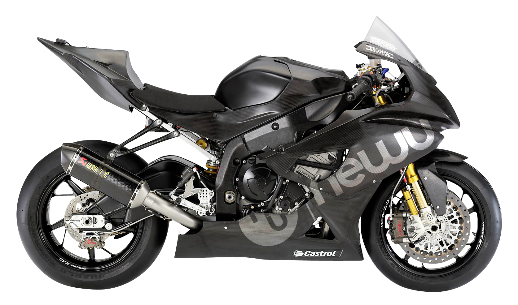 Newu BMW S1000RR Super Bike PNG Image